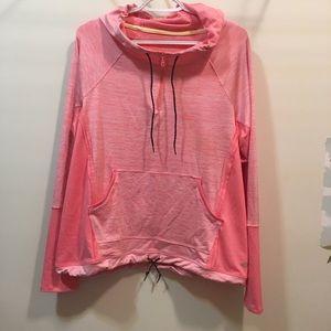 Maurice's InMotion XL hooded 1/4 zip hoodie
